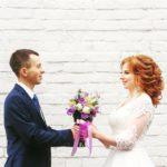 свадебная прическа фотосессия
