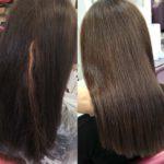 фото окрашивание темных волос