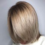 фото окрашивание коротких волос растяжка цвета